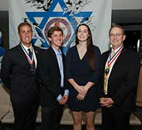 2017-4inductees Jewish Sports Hall of Fa,me